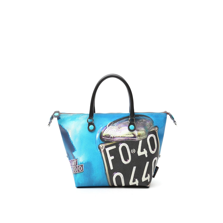 compra online borsa gabs g3 linea fiat 500 stampa Targa