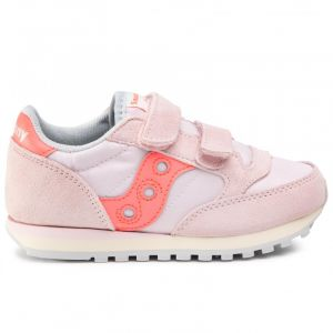 Scarpe Bambina Saucony Sneakers Jazz Double HL Kids Pink