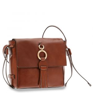 Borsa Donna a Tracolla THE BRIDGE in Pelle Marrone linea Margherita