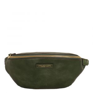 Marsupio Donna THE BRIDGE in Pelle Verde Inglese linea Margherita