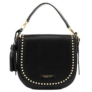Borsa Donna Piccola a Tracolla The Bridge in Pelle Nera linea Rock