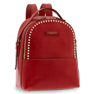 Zaino Donna THE BRIDGE in Pelle Rossa con Borchie linea Rock