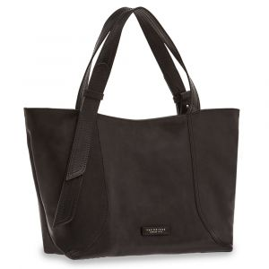 Borsa Donna Shopper THE BRIDGE in Pelle Nera linea Pienza