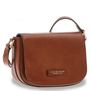 Borsa Donna a Tracolla THE BRIDGE in Pelle Marrone linea Vittoria