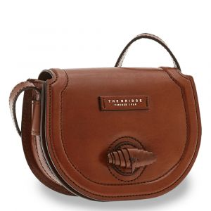 Borsa Donna a Tracolla THE BRIDGE in Pelle Marrone linea Panzani