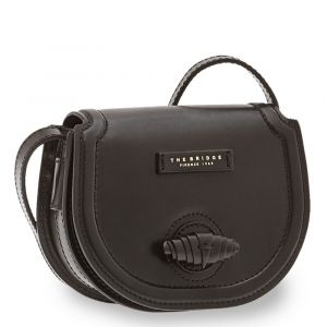 Borsa Donna a Tracolla THE BRIDGE in Pelle Nera linea Panzani