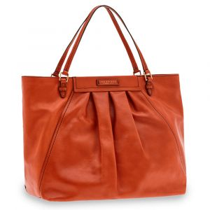 Borsa Donna Shopper a Mano THE BRIDGE in Pelle Color Senape linea Ginori