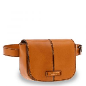 Marsupio Donna THE BRIDGE in Pelle Color Cognac linea Faentina