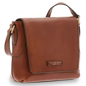 Borsa Donna a Tracolla THE BRIDGE in Pelle Marrone linea Caterina
