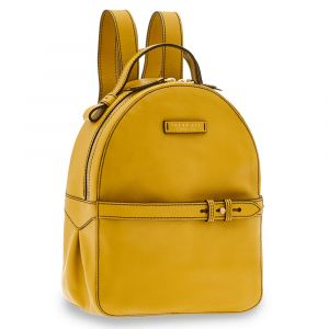 Zaino Donna THE BRIDGE in Pelle Giallo Limone linea Maria
