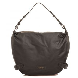 Borsa Donna Hobo a Spalla THE BRIDGE in Pelle Nera linea Maria