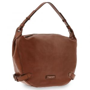 Borsa Donna Hobo a Spalla THE BRIDGE in Pelle Marrone linea Maria