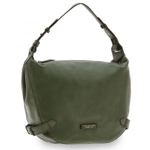 Borsa Donna Hobo a Spalla THE BRIDGE in Pelle Verde Inglese linea Maria