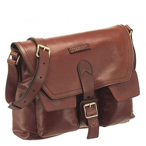Borsa Messenger Uomo THE BRIDGE in Pelle Marrone linea Giannutri