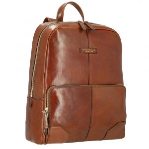 "Zaino Porta Pc 15"" THE BRIDGE in Pelle Marrone linea Vespucci"