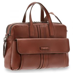 Cartella Uomo Porta Pc THE BRIDGE in Pelle Marrone linea Cosimo