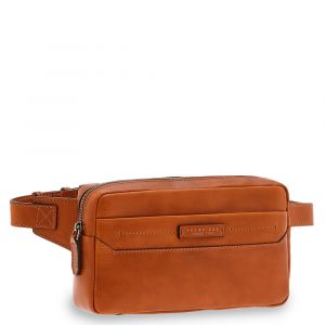 Marsupio Uomo THE BRIDGE in Pelle Color Cognac linea Serristori