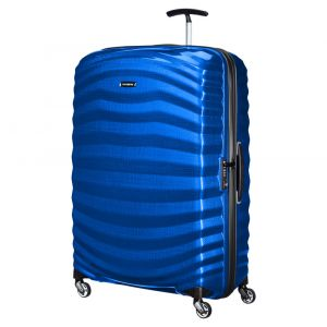 Trolley Medio Rigido 4 Ruote 69 cm - Samsonite Lite-Shock Pacific Blue