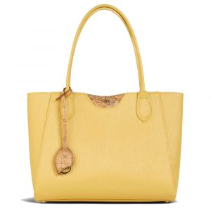 Borsa Donna Shopper 1A Classe Alviero Martini Linea Geo Waves Giallo Ocra GP02
