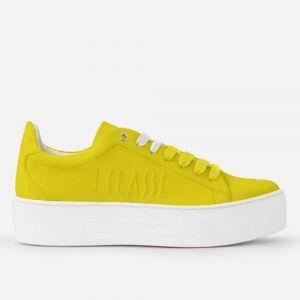 Sneakers Donna 1A Classe Alviero Martini linea Summer Pop in Tessuto Gommato Giallo P032
