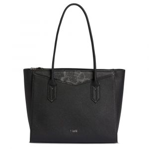 Borsa Donna Shopping Media 1A Classe Alviero Martini linea Art City Nero e Geo Night GP25
