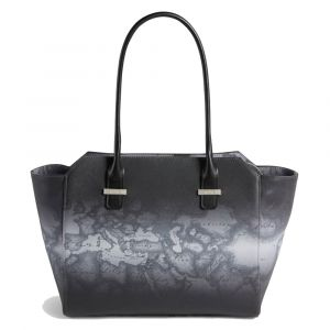 Borsa Donna Shopping 1A Classe Alviero Martini linea Geo Urban Grey GP35