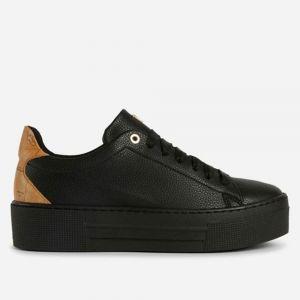 Scarpe Donna 1A Classe Alviero Martini Sneakers Platform Nero e Geo Classic A261