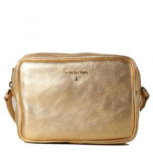 Borsa Donna a Tracolla PATRIZIA PEPE in Pelle colore Gold Star 2V8985