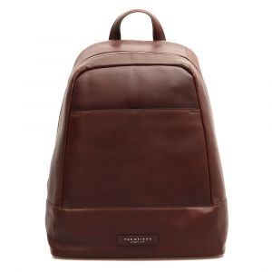 "Zaino Porta Pc 15,6"" e Tablet THE BRIDGE in Pelle Marrone linea Story"
