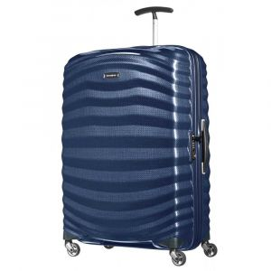 Trolley Medio 69cm 4 Ruote Rigido Leggero 2,3kg Samsonite Lite-Shock Midnight Blue