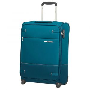 Trolley Cabina Semirigido 2 Ruote 55cm 2kg Samsonite Base Boost Petrol Blue Stripes