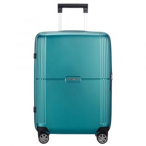 Trolley Medio 69cm 4 Ruote Leggero 3,3 kg  - Samsonite Orfeo Spinner Blue Lagoon