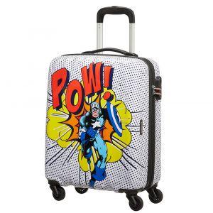 Trolley Cabina 55cm 4 Ruote Leggero 2,6kg - American Tourister Marvel Legends Capitan America