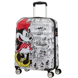 Trolley Cabina 55cm 4 Ruote Leggero 2,6kg - American Tourister Disney Minnie Comics