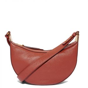 Borsa Donna a Spalla COCCINELLE in Pelle Linea Anais colore Foliage Red