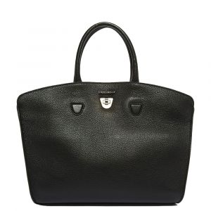 Borsa Donna a Mano COCCINELLE in Pelle linea  Angie Medium colore Nero