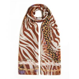 Foulard 100 x 195 cm GUESS colore Marrone
