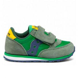 Scarpe Bambino Saucony Baby Jazz HL Green - Yellow - Blue