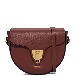 Borsa Donna a Tracolla COCCINELLE in Pelle linea Beat Soft Mini colore Marsala