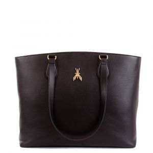 Borsa Donna in Pelle PATRIZIA PEPE Shopping a Spalla 2V9900 colore Nero