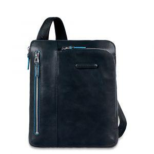 Borsello Organizzato Piquadro in Pelle Blu Porta iPad/iPad®Air,  -  CA1816B2 Linea Blue Square