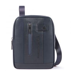 """Borsello Organizzato Piquadro in Pelle Blu Porta iPad®10,5""""/iPad 9,7"""" -  CA1816UB00 Linea Urban"""