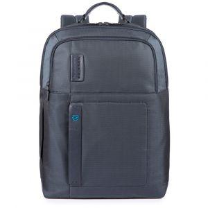 """Zaino Porta Pc 15.6"""" e iPad PIQUADRO linea Pulse P16 in Tessuto Blu CA4174P16"""