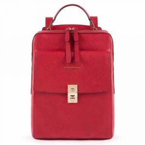 Zaino Donna PIQUADRO Porta Pc e iPad - CA5437DF Linea Dafne Colore Rosso