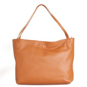 Borsa Donna COCCINELLE in Pelle Linea Cocci Grain Medium colore Caramel