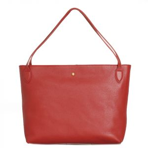 Borsa Donna COCCINELLE in Pelle Linea Cocci Grain Medium colore Foliage Red