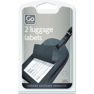 Coppia di Etichette porta indirizzo da Viaggio - Design Go Travel