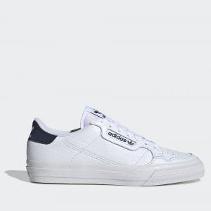 Scarpe Uomo ADIDAS Sneakers linea Continental Vulc colore Bianco e Blu