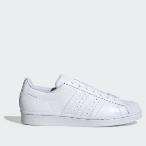 Scarpe ADIDAS Sneakers linea Superstar in Pelle colore Bianco