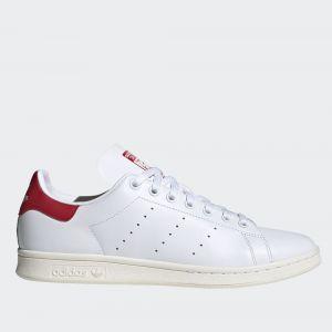 Scarpe Uomo ADIDAS Sneakers linea Stan Smith colore Bianco e Rosso
